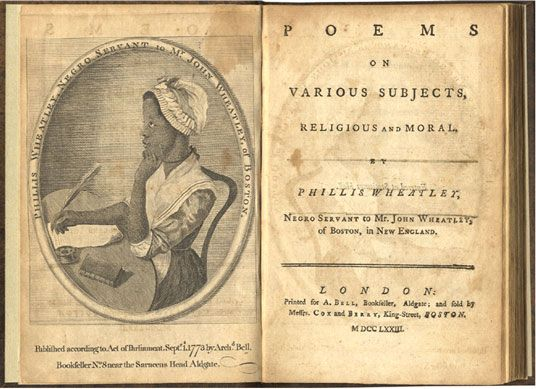 Lot Detail - Phillis Wheatley's