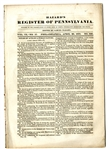 Pennsylvania - A Slave Holding State - 1832