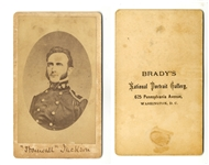 Early CDV Of Stonewall