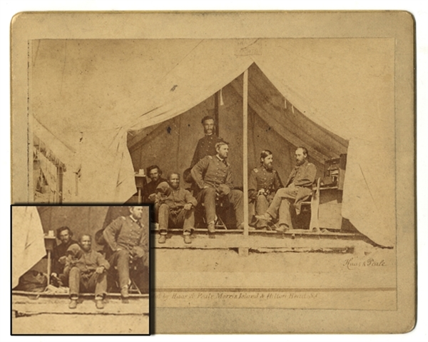 Photograph Includes A USCT and a Hero At Morris Island