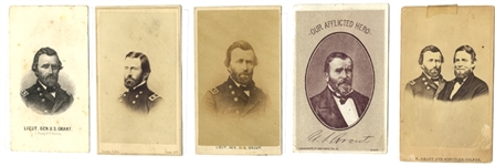 Collection of U. S. Grant General and Grant Presidential Judgat CDVs