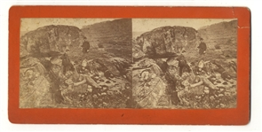 Stereo Confederate Dead on the Battlefield of Gettysburg