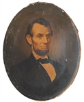 It Looks An Oils Portrait of Lincoln