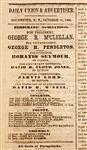 Pro-McClellan 1864 Presidential Campaign Newspaper: The Rochester Daily Union.