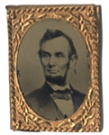 Abraham Lincoln Campaign Tintype