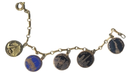 Vintage Charm Bracelet from the New York Worlds Fair - 1939