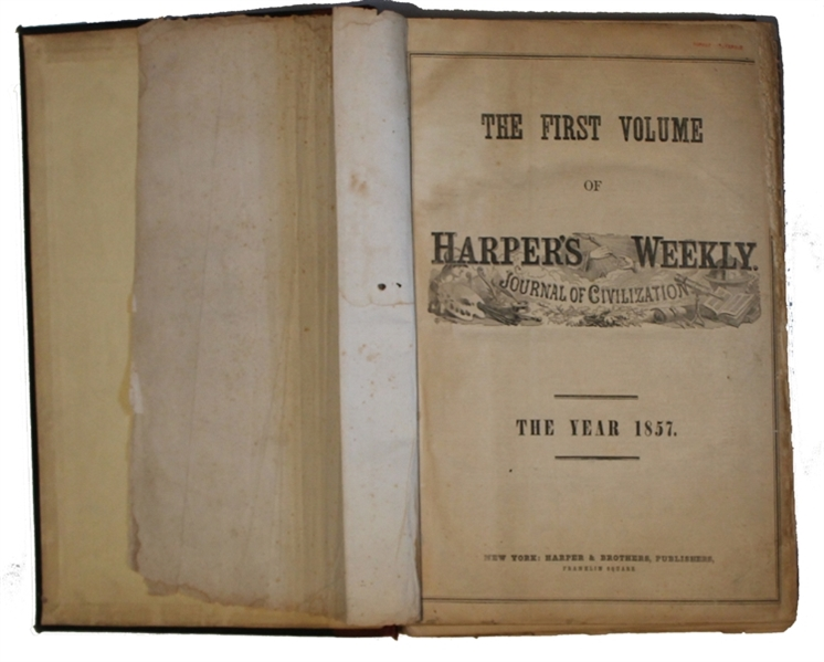 The First Complete Year of Harper's Weekly