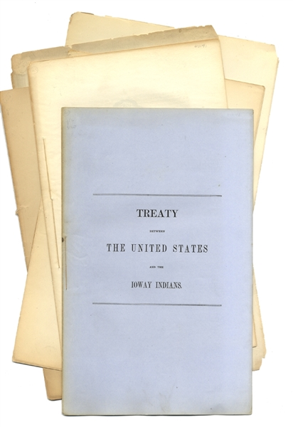 Making Treaties With The Various Indian Tribes