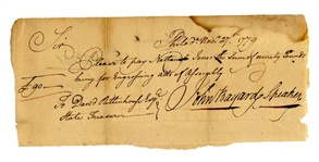 Revolutionary War Voucher