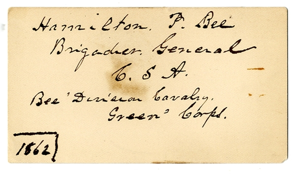 Early War Date Signed Card By Bee