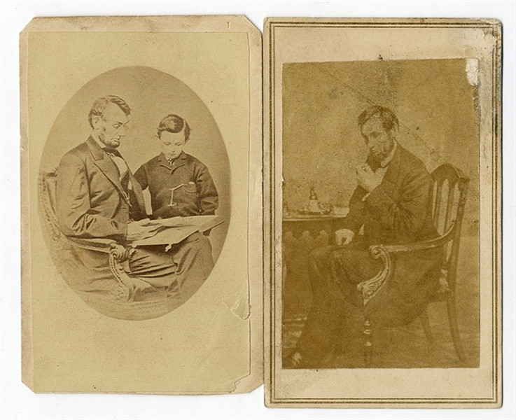 A Pair of Lincoln Images