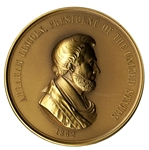 Lincoln Restruck Peace Medal
