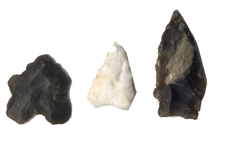 Three Bird Spearheads