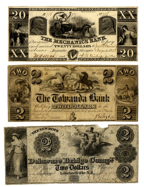 Early Banks Notes