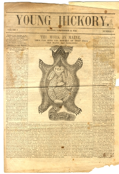 James Polk Campaign Newspaper