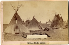 D.F. Barry Photgraph of Sitting Bull Camp