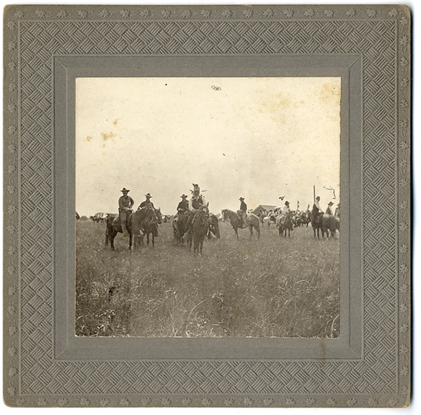 Geronimo Mounted Albumen,