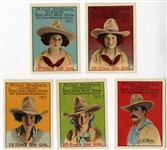 Complete Set Of Miller Brothers Perforated Poster Stamps