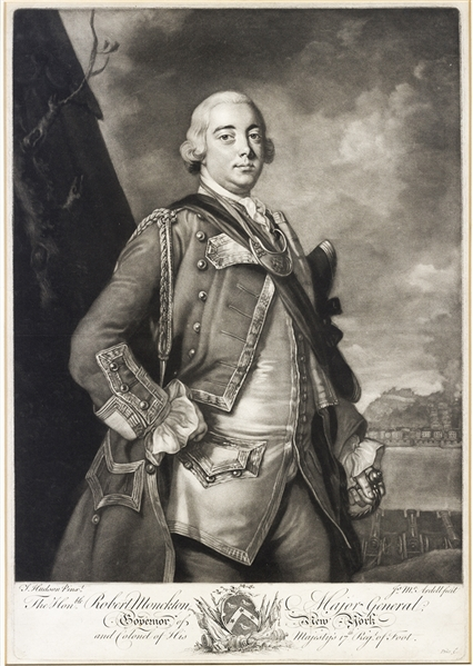Colonial New York Governor