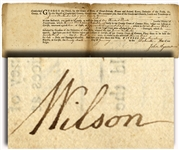 Nice to Have a Declaration Signer's Document From 1776
