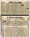 The City of Washington Places Restrictions on Blacks in 1831