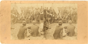 Black Musicians Entertaining the Troops