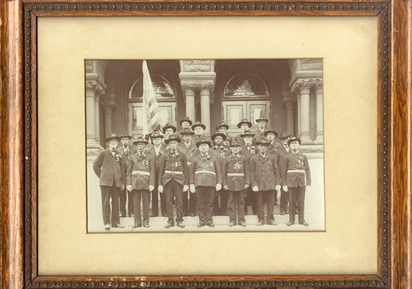 Civil War Veterans Photo Includes Two Black Vets