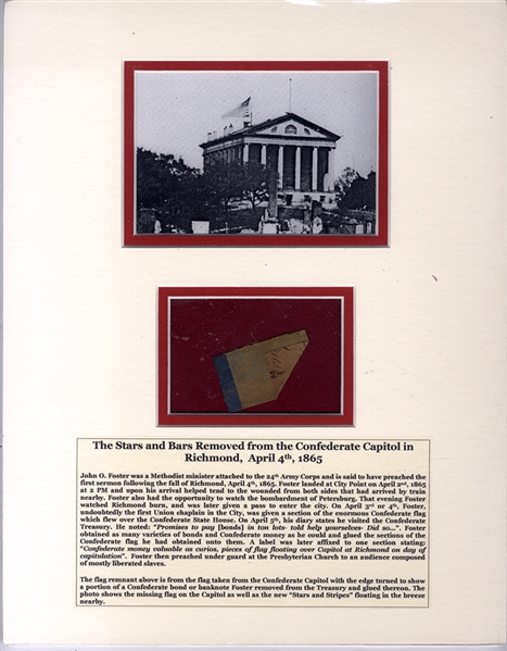 The Last Confederate Flag and the First Sermon for Freed Slaves in Richmond