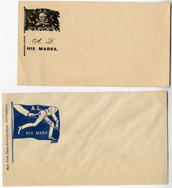 A Pair of Lincoln Patriotic Covers