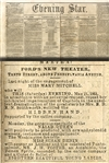 Plenty of War Reporting - But Also Ads For Important Theater News - Ford's Theater - Laura Keene - Edwin Booth