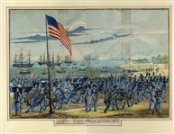 Very Nice Period Litho of the Mexan American War