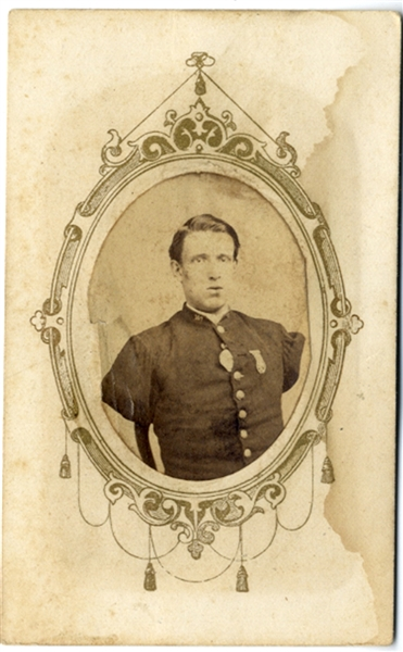 Double Amputee - Alfred A. Stratton of the 147th NY