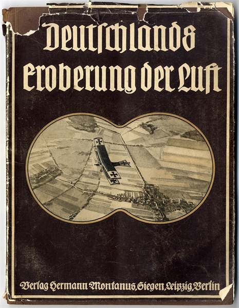 "The Translation Is ""GERMANY'S CONQUEST OF THE AIR."""