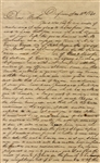 1840 Ohio Indian Fur Trade Letter