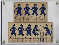 Circa 1890 Card Baseball Players