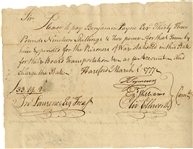POW Document - 1777