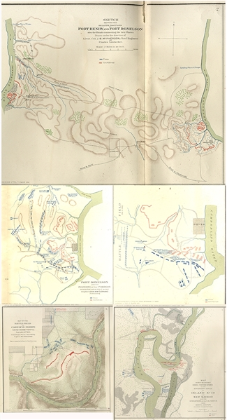 Atlas maps from official records of Union and Confederate Armies 1861-1865