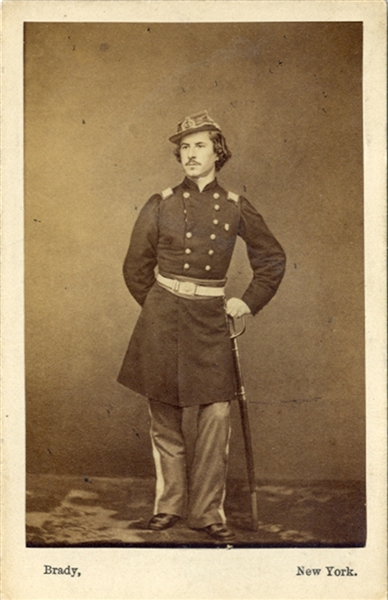 Mathew Brady of Martyr Col. Elmer E. Ellsworth