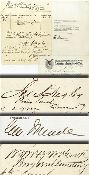 Autographs of Generals