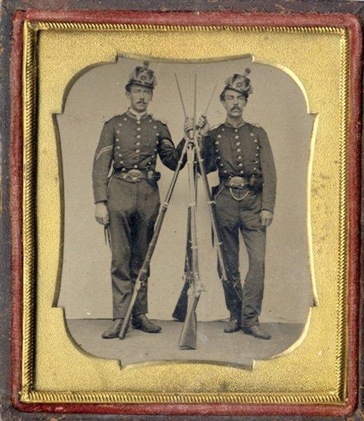 Union Soldiers Tintype