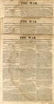 This Newspaper Was Established For The Sole Purpose of Reporting The War of 1812
