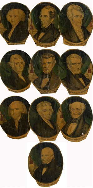 Very Unusual Grouping of Early US Presidents.