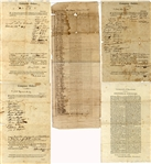 Barbary War Period Massachusetts Militia Documents