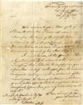 1833 Naval Document
