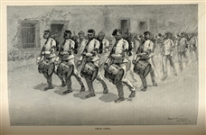 "Frederic Remington illustrates ""The Mexican Army"""