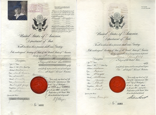 Passports for Jessie Rosenfeld