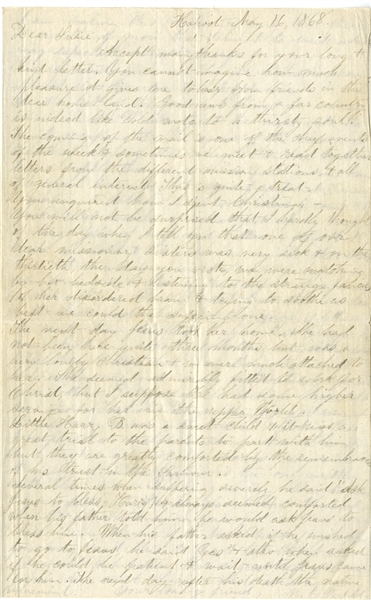 1868 Missionary Letter