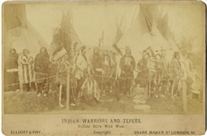 Buffalo Bill's Indians in England