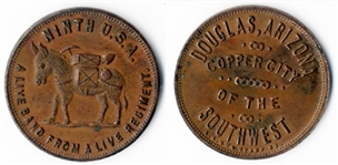 A Coin Issued For The 9th Cavalry