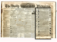 Twenty Issues of the Picayune, New Orleans - 1856